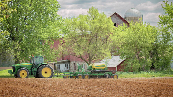 Photograph - Deere On The Farm by Susan Rissi Tregoning