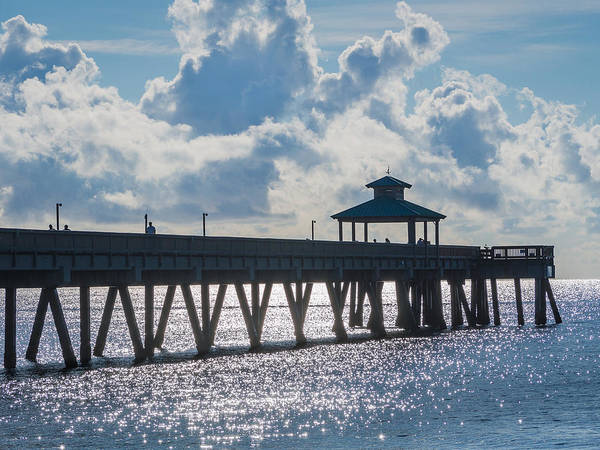 Photograph - Deerfield Beach Pier by Robin Zygelman