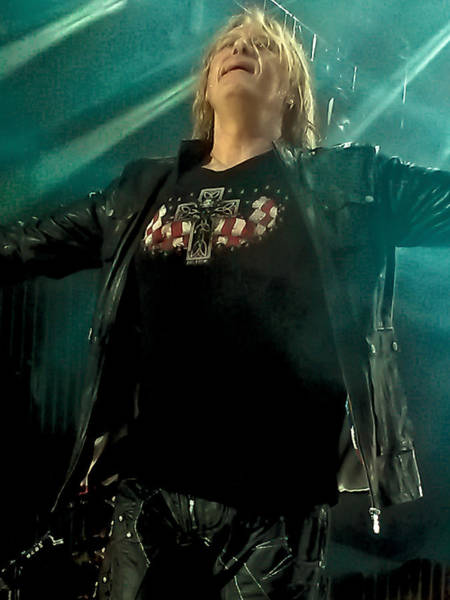 Photograph - Def Lappard's Joe Elliott by David Patterson