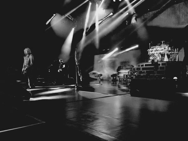 Photograph - Def Leppard At Saratoga Springs 2 by David Patterson