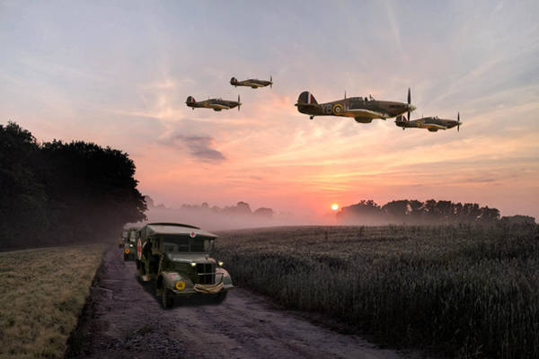 Royal Digital Art - Defence Of The Realm by Mark Donoghue
