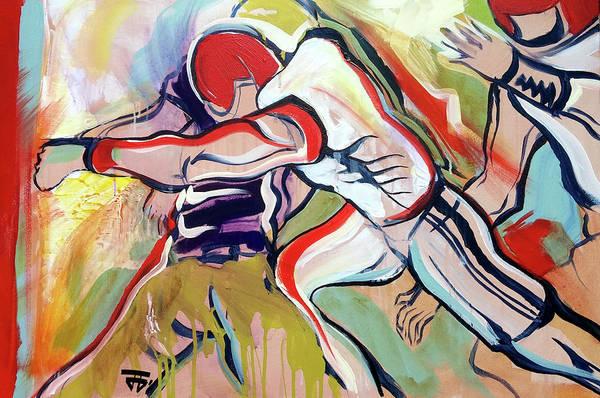 Painting - Defense Surge by John Jr Gholson