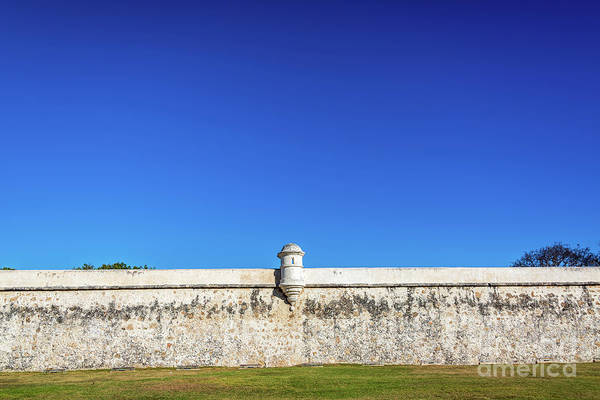 Wall Art - Photograph - Defensive Wall In Campeche, Mexico by Jess Kraft