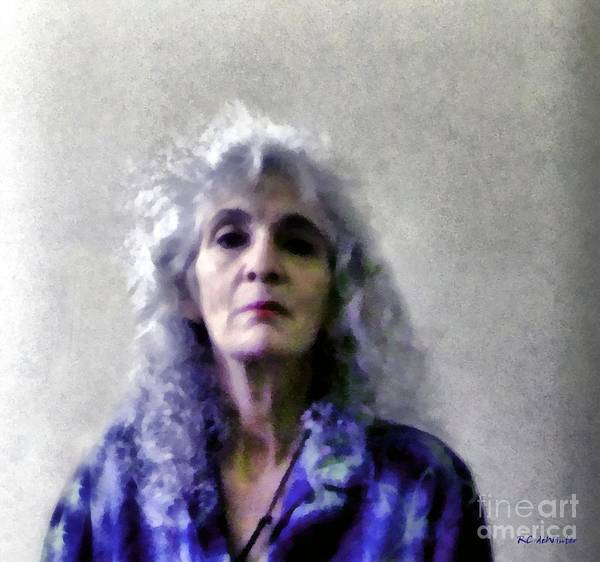 Painting - Defiance by RC DeWinter