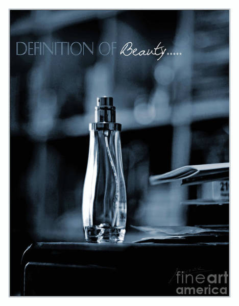 Photograph - Definition Of Beauty Blue by Lance Sheridan-Peel