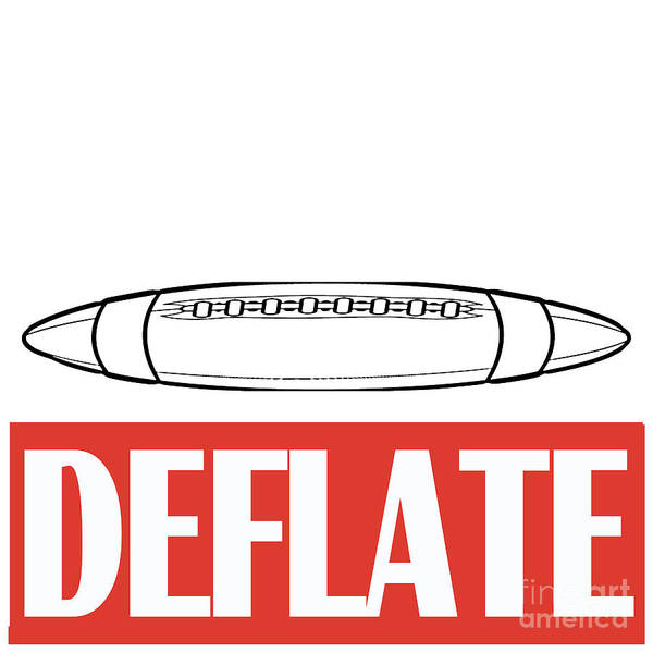 Controversy Photograph - Deflate by Edward Fielding
