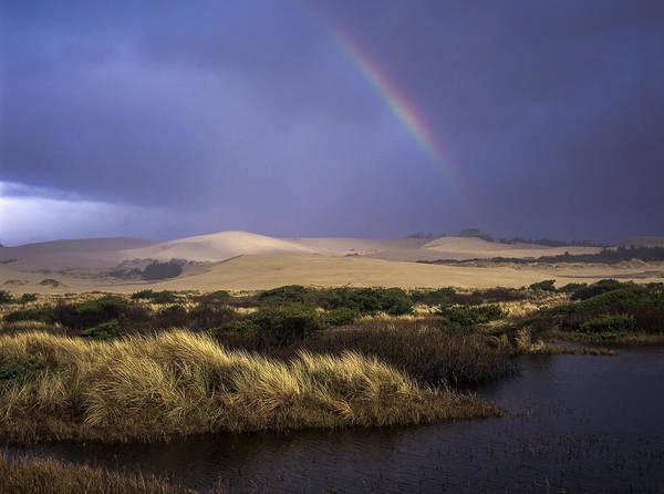 Photograph - Deflation Plain Rainbow by Robert Potts