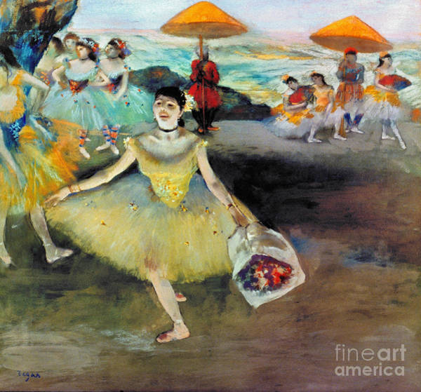 Photograph - Degas: Dancer, 1878 by Granger