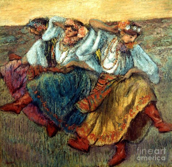 Photograph - Degas: Dancing Girls, C1895 by Granger