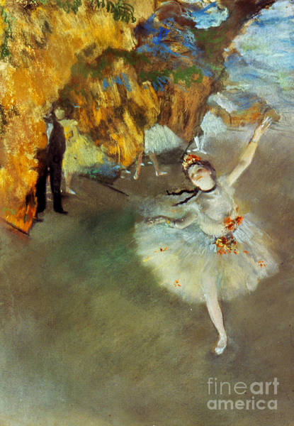 Impressionist Photograph - Degas Star, 1876-77. To License For Professional Use Visit Granger.com by Granger