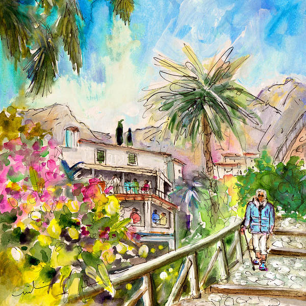 Painting - Deia 02 by Miki De Goodaboom