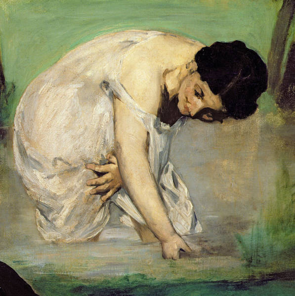 Wall Art - Painting - Dejeuner Sur Lherbe by Edouard Manet