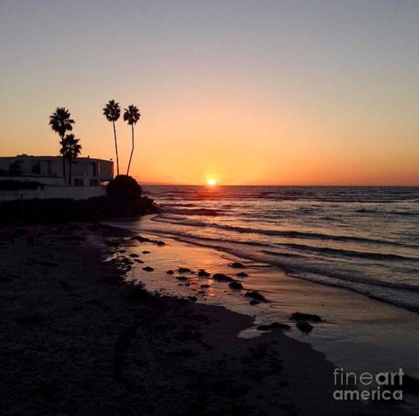 Photograph - Del Mar Sunset by Denise Railey