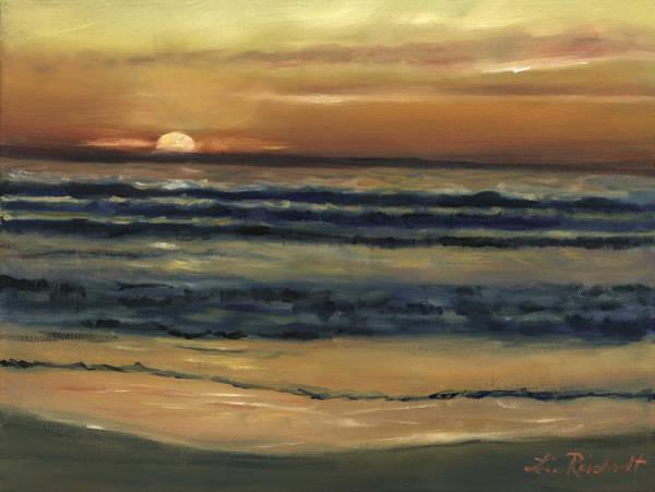 Wall Art - Painting - Del Mar Sunset by Lisa Reinhardt
