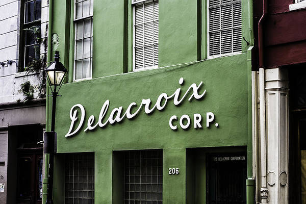 Photograph - Delacroix Corp., New Orleans, Louisiana by Chris Coffee