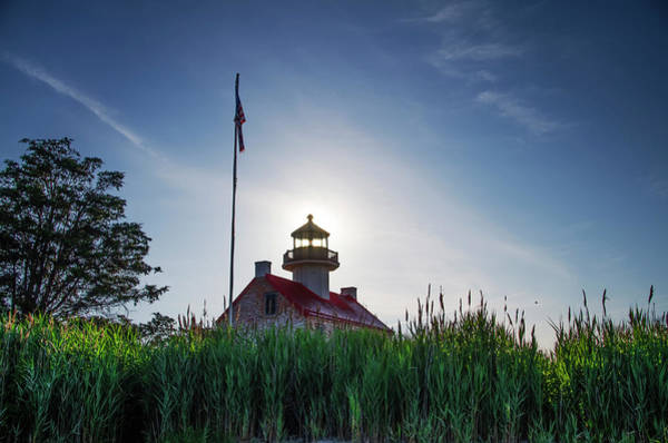 Wall Art - Photograph - Delaware Bay - East Point Lighthouse by Bill Cannon