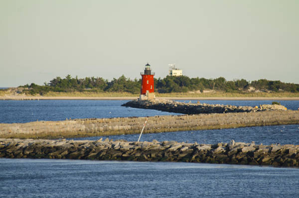 Lewes Photograph - Delaware Breakwater Lighthouse  by Bill Cannon