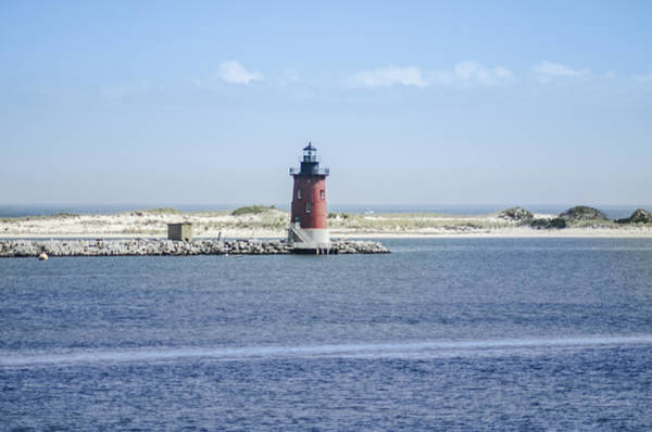 Lewes Photograph - Delaware Breakwater Lighthouse - Lewes De by Bill Cannon