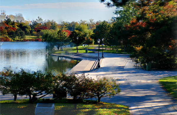 Delaware State Park Wall Art - Photograph - Delaware Park by Brian Mcmillen