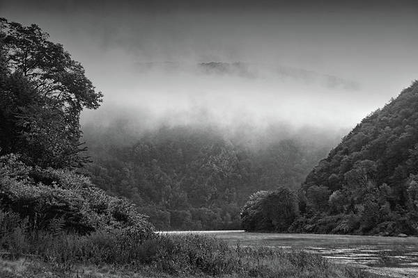 Photograph - Delaware Water Gap Clouds Set In by Raymond Salani III