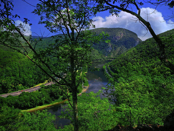 Delaware Water Gap Art Print