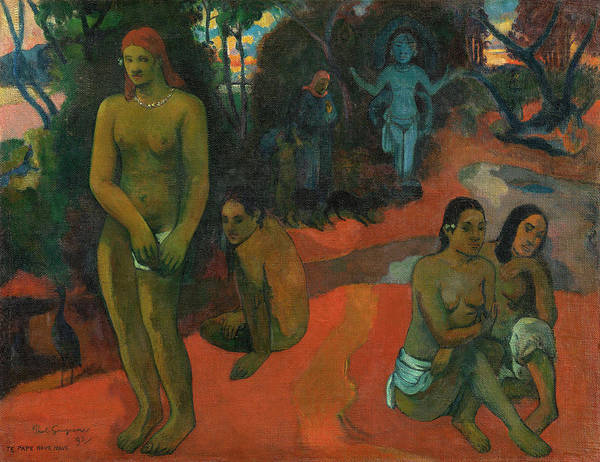 Wall Art - Painting - Delectable Waters by Paul Gauguin