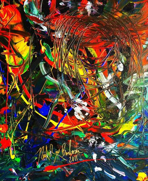 Painting - Delicate Abstraction by Neal Barbosa