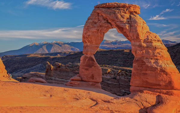 Delicate Arch Digital Art - Delicate Arch At Sunset by Bob Coorsen