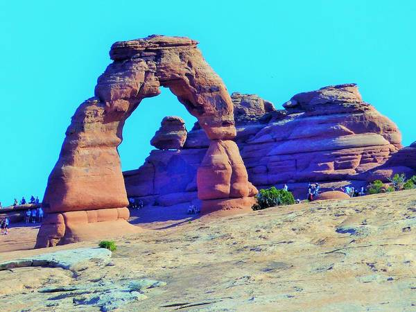 Digital Art - Delicate Arch by Barkley Simpson