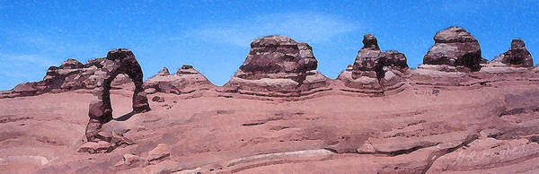Delicate Arch Digital Art - Delicate Arch by Gary Hughes