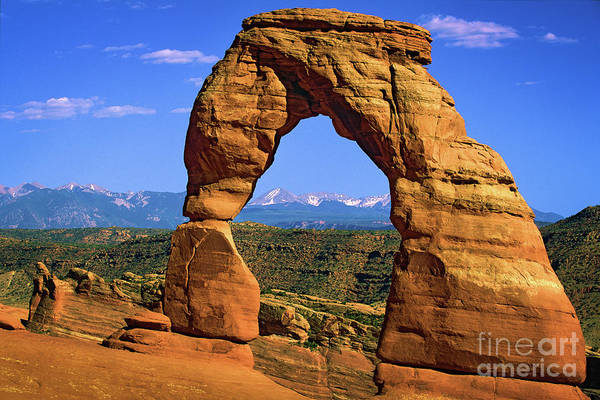 Delicate Arch Wall Art - Photograph - Delicate Arch by Inge Johnsson