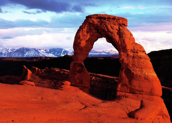 Photograph - Delicate Arch by Norman Hall