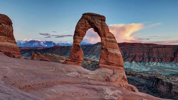 Photograph - Delicate Arch by OLena Art Brand