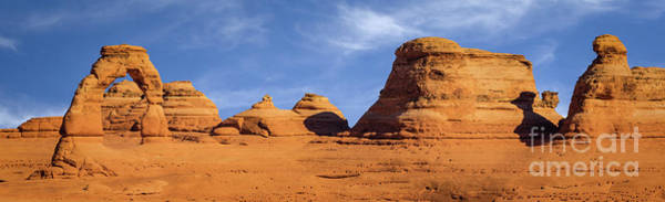 Delicate Arch Digital Art - Delicate Arch Pano by Jerry Fornarotto