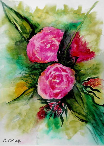 Painting - Delicate Beauties by Carol Crisafi
