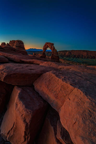 Delicate Arch Wall Art - Photograph - Delicate Dawn by Rick Berk