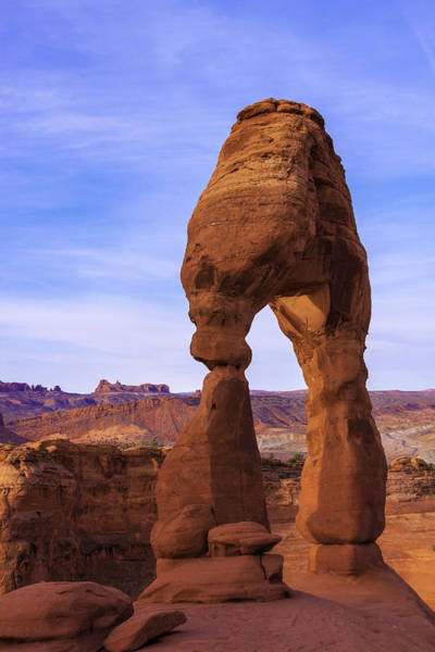 Delicate Arch Wall Art - Photograph - Delicate Landmark by Chad Dutson
