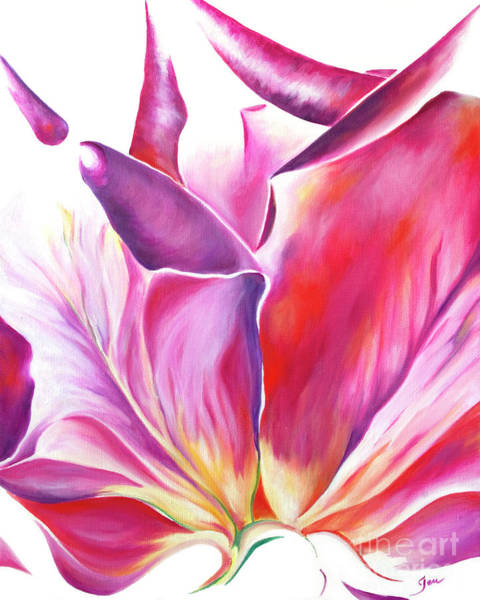 Wall Art - Painting - Delicate Touch by Jen Callison