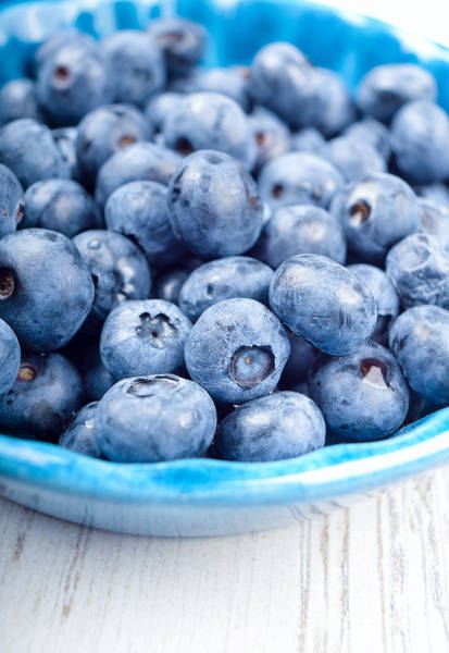Bilberry Photograph - Delicious Blueberries by Andreas Berheide