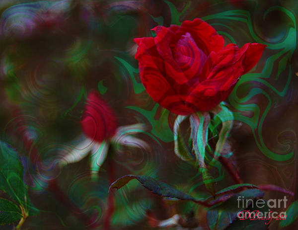Photograph - Delicious Rose by Donna Bentley