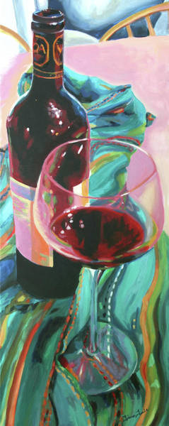Painting - Delight by Trina Teele