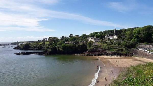 Dunmore East Photograph - Delightful Dunmore East  by Mary Morgan