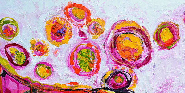 Painting - Delightful Memories Abstract Painting With Knife Palette by Patricia Awapara
