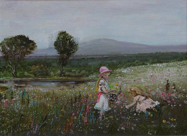 Painting - Delights Of Spring - Lmj by Ruth Kamenev