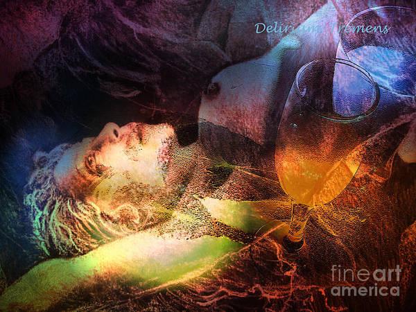 Painting - Delirium Tremens by Miki De Goodaboom
