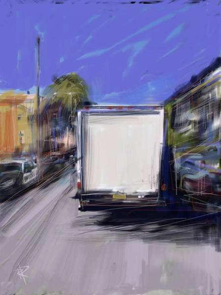 Truck Digital Art - Delivery by Russell Pierce