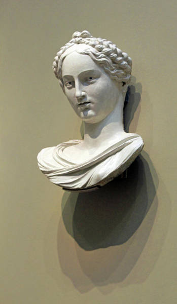 1566 Photograph - Della Robbia's Bust Of A Woman by Cora Wandel