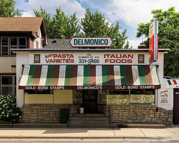 Photograph - Delmonico's Italian Market by Mike Evangelist