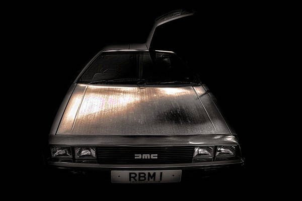 Car Part Photograph - Delorean by Martin Newman