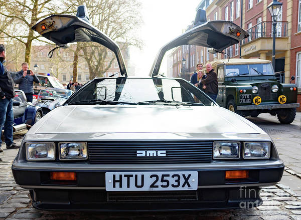 Photograph - Delorean Motor Car by Colin Rayner
